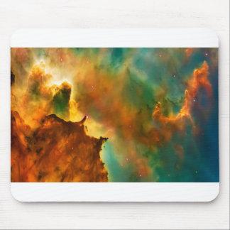 Space cloud nebula mouse pad