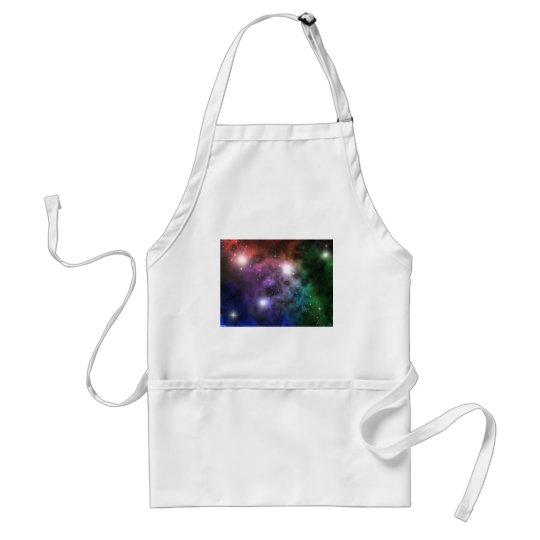 Space Clouds Adult Apron