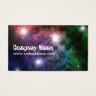 Space Clouds Business Card