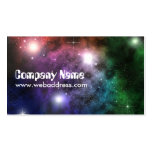 Space Clouds Business Card Templates
