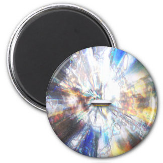 Space Clouds Craft 2 Inch Round Magnet