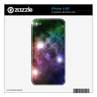 Space Clouds iPhone 4S Decal