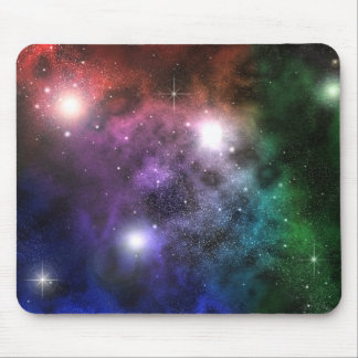 Space Clouds Mouse Pad