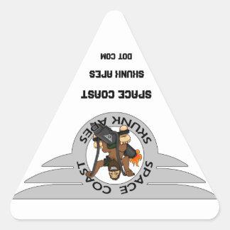 Space Coast Skunk Apes Sticker