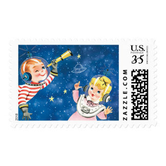 Space Collection matching postage stamps