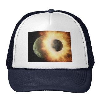 Space Collision Trucker Hat