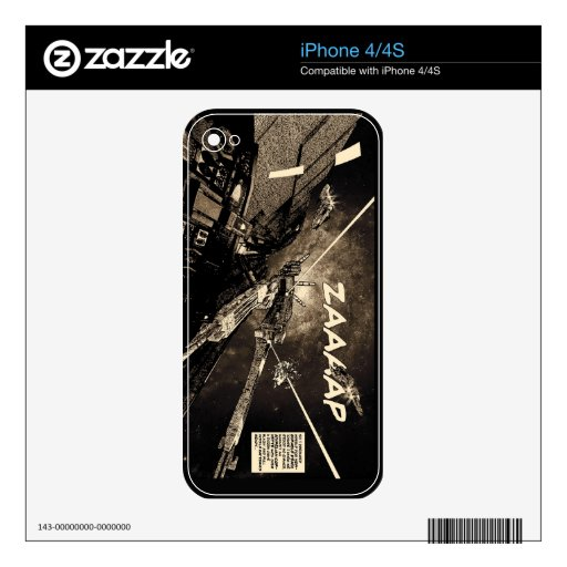 Space Combat vintage comic iphone skin Skin For The iPhone 4S