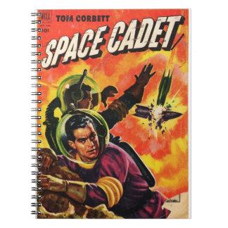 Space Comic Spiral Note Books