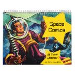 Space Comics 18 Month Calendar