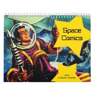 Space Comics 2014 Calendar