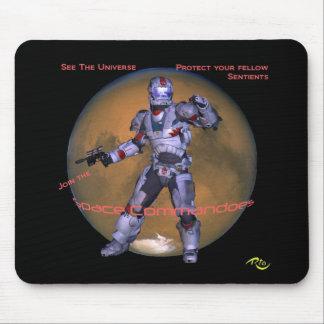 Space Commando Mousepad