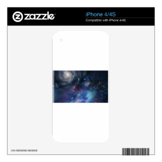 space cosmos stars skins for the iPhone 4S