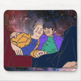 Space Couch Mouse Pad