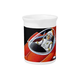 SPACE COUPE DRINK PITCHER