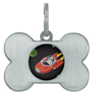 SPACE COUPE PET TAG