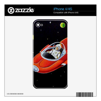 SPACE COUPE SKINS FOR iPhone 4S