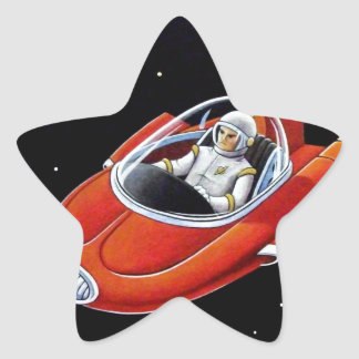 SPACE COUPE STAR STICKER