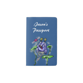 Space cow flying in space around planets pocket moleskine notebook cover with notebook