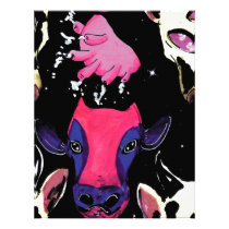 space cow letterhead