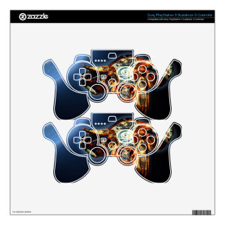 Space cow skins for PS3 controllers