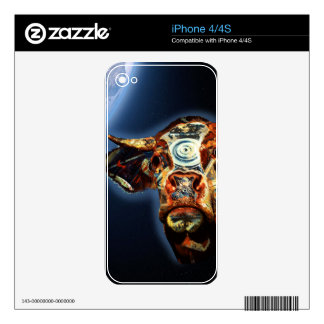 Space cow skins for the iPhone 4