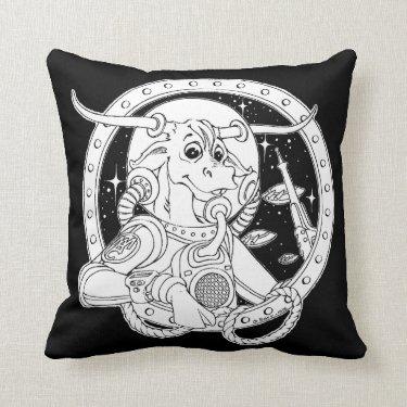 Space Cowboy Pillow