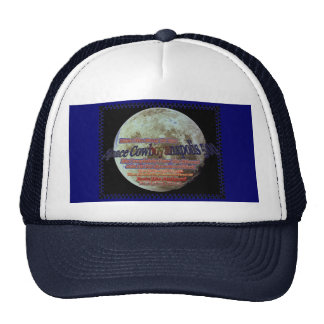 Space Cowboyanapolis 500-Completely Over The Moon! Trucker Hat