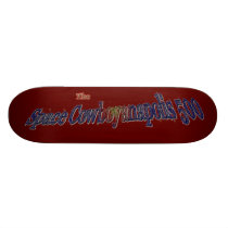 Space Cowboyanapolis 5oo-Completely Over The Moon! Skateboard