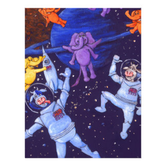 Space Cows and Space Elephants Letterhead