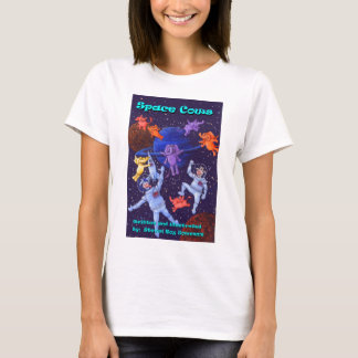 Space Cows and Space elephants T-Shirt