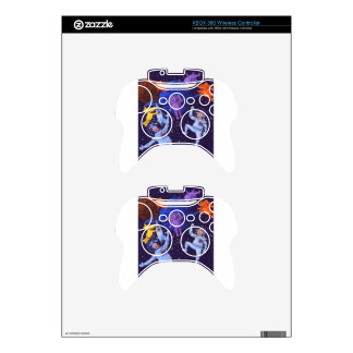 Space Cows and Space Elephants Xbox 360 Controller Decal