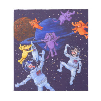 Space Cows Notepad