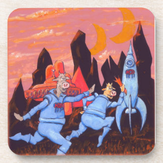 Space Cows on Mars Coaster
