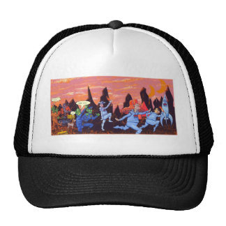 Space Cows on Mars Trucker Hat