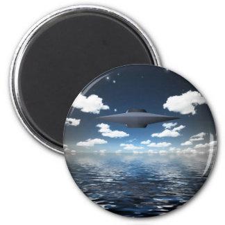 Space Craft 2 Inch Round Magnet