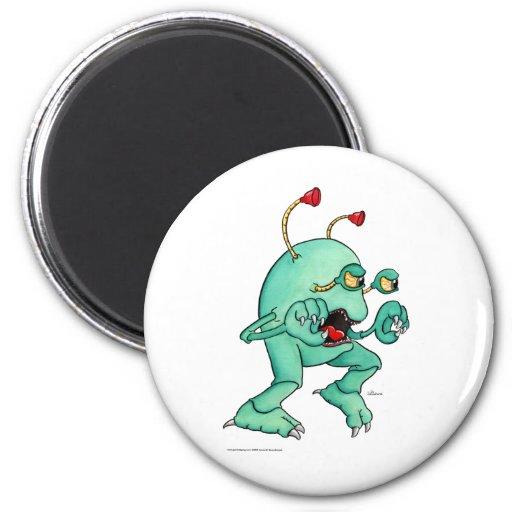 Space Creature 2 Fridge Magnets