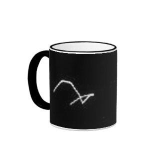 Space Critter at Enceladus Ringer Mug