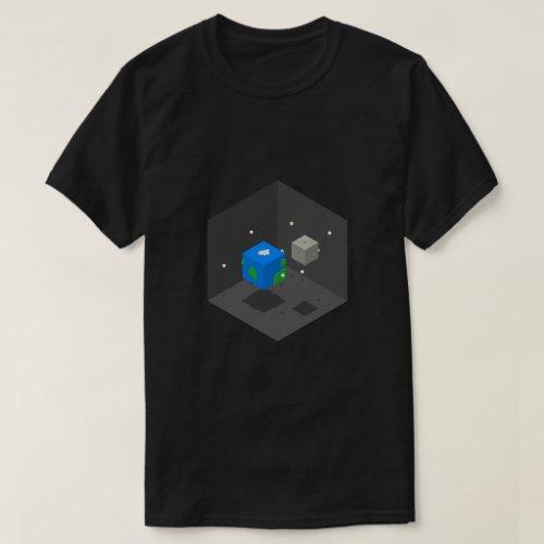 Space Cubes T_Shirt