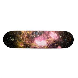 space custom skate board