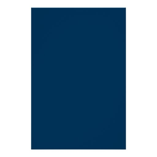 Space Dark Navy Blue Solid Trend Color Background Posters