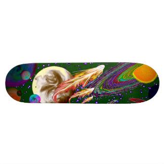 Space Deck Green Skateboard Decks