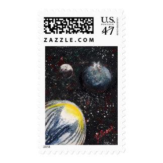 SPACE (design 11) Postage