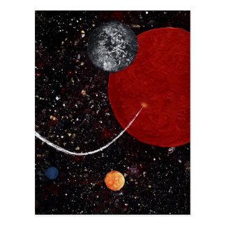 SPACE (design 15) ~ Postcard