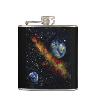 SPACE (design 16) - small flask