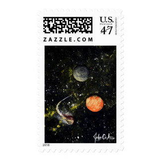 SPACE (design 17) Postage