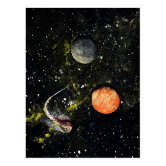 SPACE (design 17) ~ Postcard