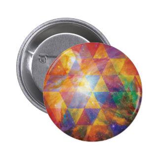 Space Design 2 Inch Round Button