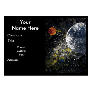 Comet business cards templates zazzle for Outer space designs norwich