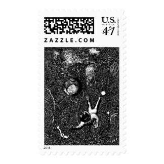 SPACE design TETHERED Postage