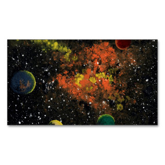 SPACE (destign 3).jpg Magnetic Business Cards (Pack Of 25)